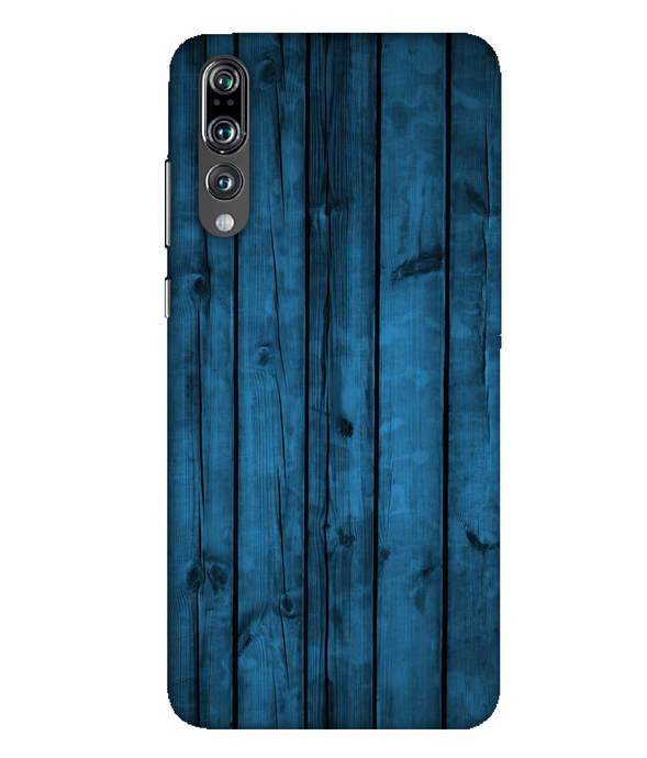 Huawei P20 Pro Blue Woods mobile cover