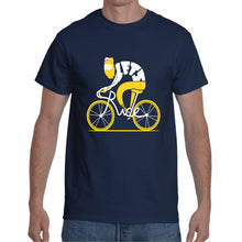 Load image into Gallery viewer, Cycle Navy Blue T- Shirt