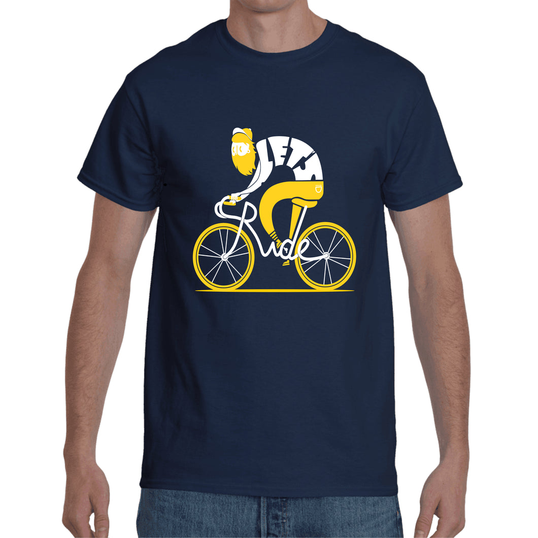 Cycle Navy Blue T- Shirt
