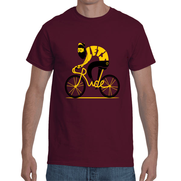 Cycle Maroon T- Shirt