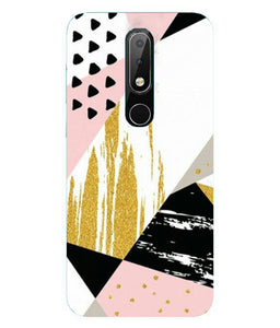 Oppo F11 Pink & Black mobile cover