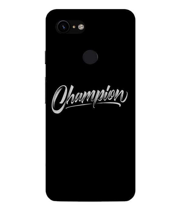Google Pixel 3 Champion cover