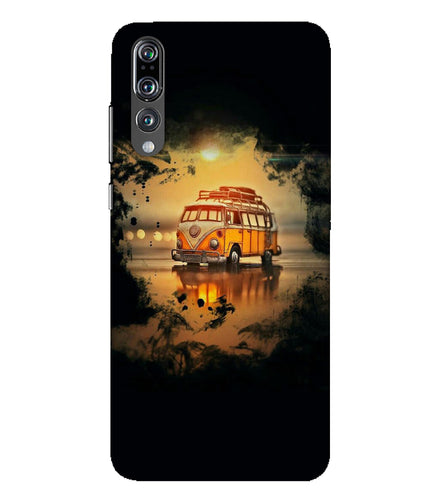 Huawei P20 Pro Sunset mobile cover