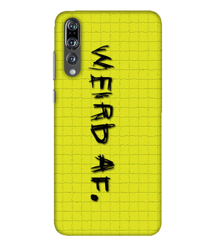 Huawei P20 Pro Weird AF mobile cover