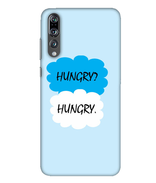 Huawei P20 Pro Hungry mobile cover
