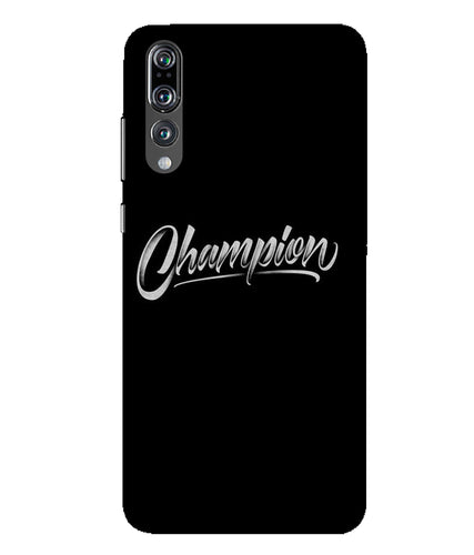 Huawei P20 Pro Champion mobile cover