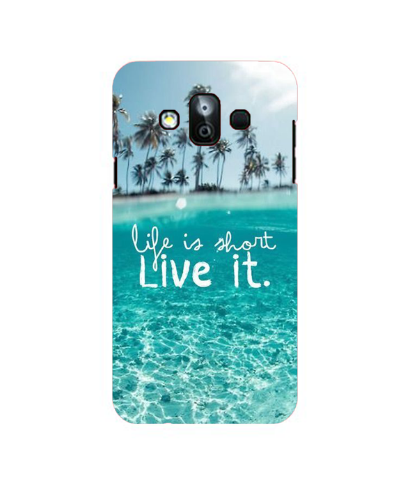 Samsung Galaxy J7 Duo Live Life Mobile cover