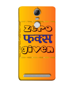 Lenovo K5 Note Zero F's Given Mobile Cover