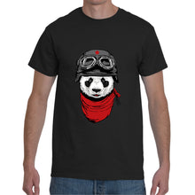 Load image into Gallery viewer, Black Funky Panda T- Shirt