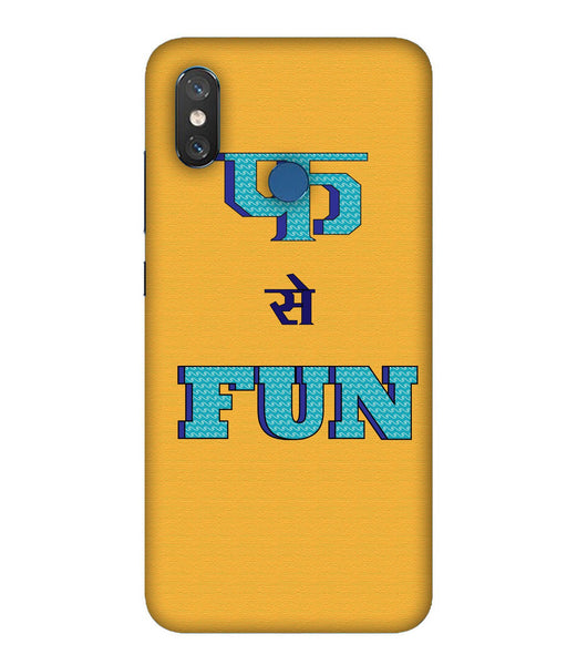 Xiaomi MI 8 Fun Mobile Cover