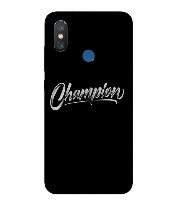 Xiaomi MI 8 Champion Mobile Cover