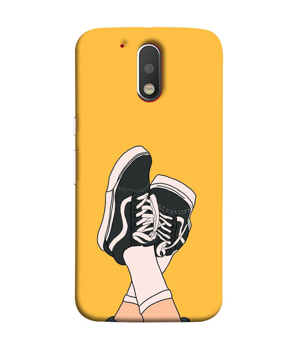 Moto G4 Shoes Mobile cover