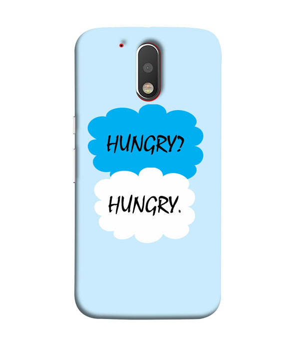 Moto G4 Hungry Mobile cover