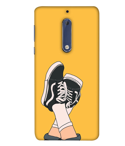 Nokia 5 Shoes Mobile Cover