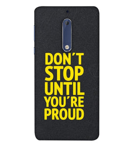 Nokia 5 Don't Stop Mobile Cover