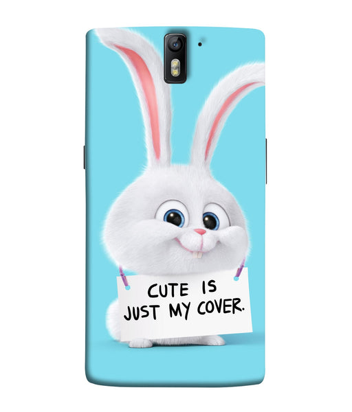 One Plus 1 Bunny Mobile Cover