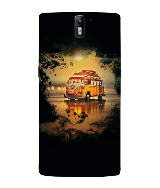 One Plus 1 Sunset Mobile Cover