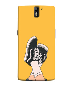 One Plus 1 Shoes Mobile Cover