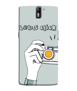 One Plus 1 Let's Click  Mobile Cover