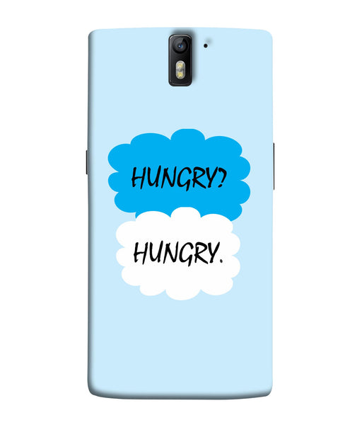 One Plus 1 Hungry Mobile Cover
