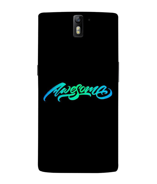 One Plus 1 Awesome Mobile Cover