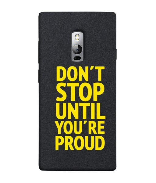 One Plus 2 Don't Stop Mobile cover