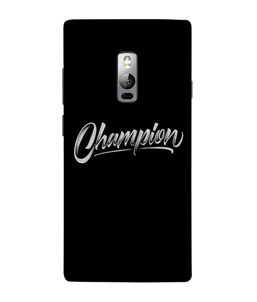 One Plus 2 Champion Mobile Cover