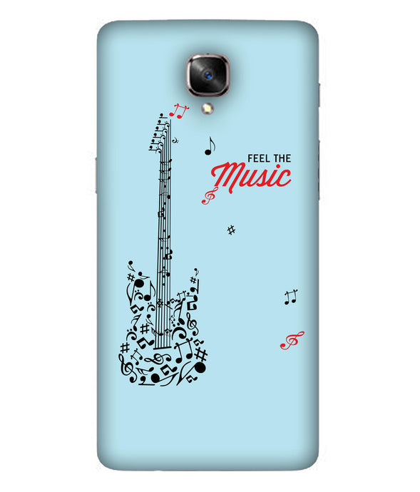 One Plus 3 Music Mobile Cover