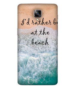 One Plus 3 Beach Mobile Cover