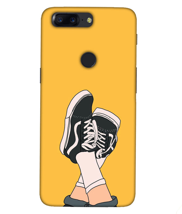 One plus 5T Shoes Mobile cover