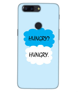 One plus 5T Hungry Mobile cover