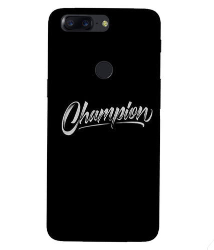 One Plus 5T Champion Mobile Cover