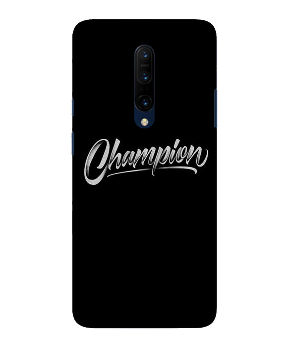 One Plus 7 Pro Champion Mobile Cover