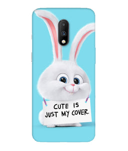 One Plus 7 Bunny Mobile Cover