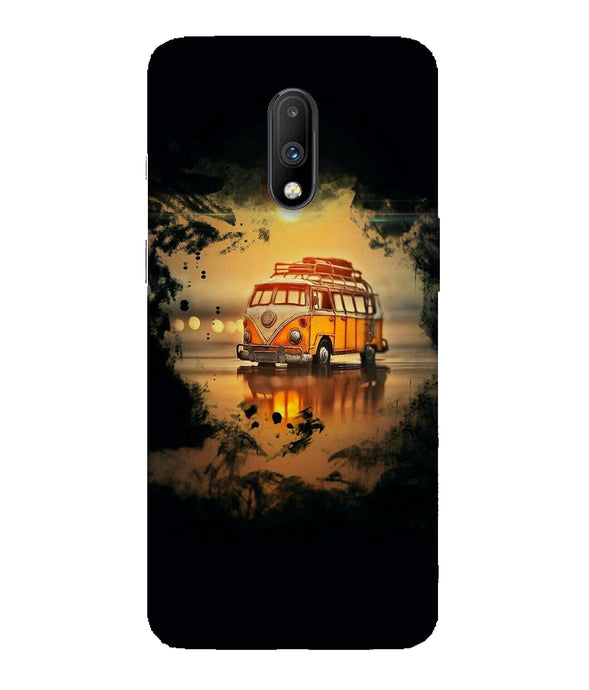 One Plus 7 Sunset Mobile Cover