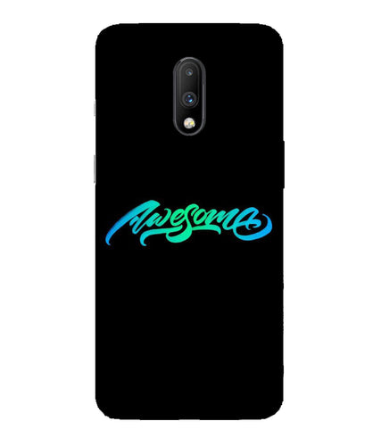 One Plus 7 Awesome Mobile Cover