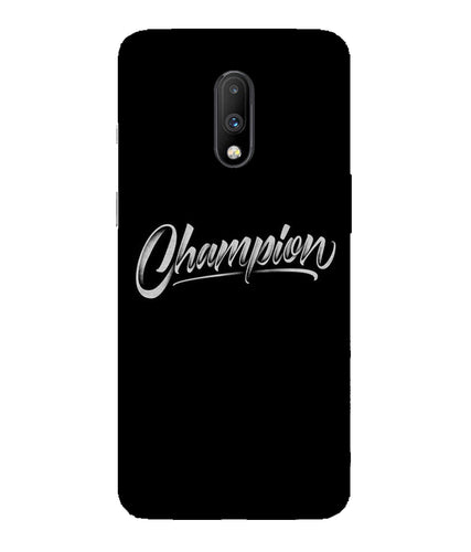 One Plus 7 Champion Mobile Cover