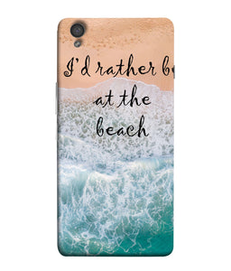 One Plus X Beach Mobile Cover
