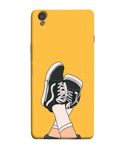 One Plus X Shoes Mobile cover