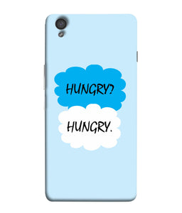 One Plus X Hungry Mobile cover