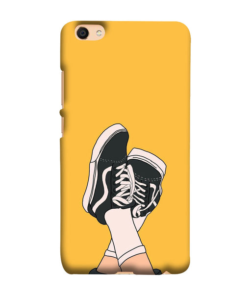 Oppo F3 Shoes mobile cover