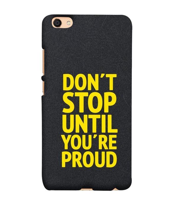 Oppo F3 Don't Stop mobile cover
