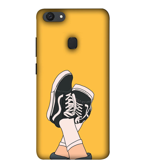 Oppo F5 Shoes mobile cover