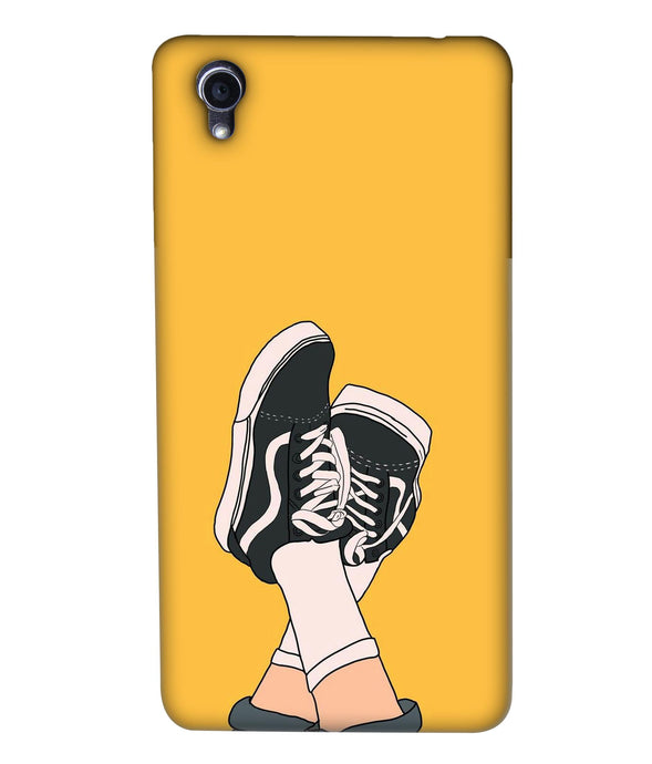 Oppo F1plus Shoes mobile cover