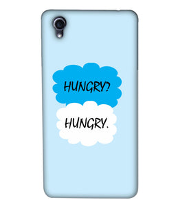 Oppo F1plus Hungry mobile cover