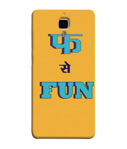 Redmi Mi 4 Fun Mobile Cover