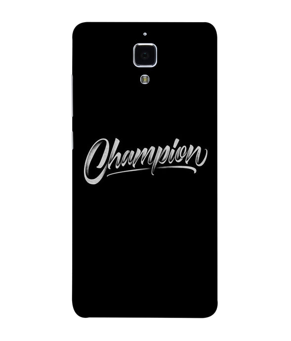 Redmi Mi 4 Champion Mobile Cover