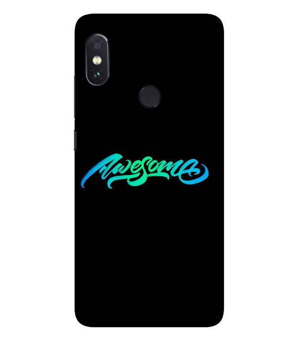 Redmi Note 5 Pro Awesome Mobile Cover