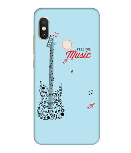 Redmi Note 6 Music mobile cover
