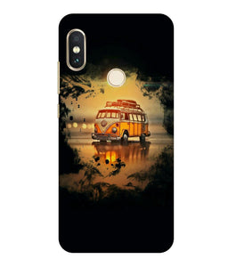 Redmi Note 6  Sunset mobile cover